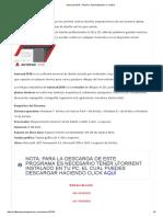 Autocad 2018 – Diseño, Automatización y Control