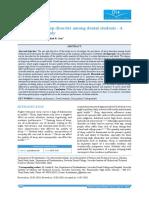 Prevalence of sleep disorder among dental students - A.pdf