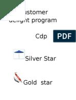 Copy of Customer delight program