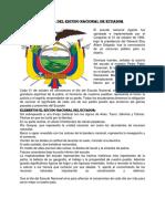 31 de Octubre Día Del Escudo Nacional de Ecuador
