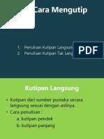 Daftar Pustaka Presentasi b.indo