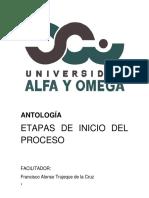 Antología Audiencias Del Proceso Alfa y Omega