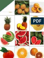 Frutas, autismo
