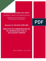 Directiva Nº 004 2018 Vrin Uns