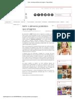 Kefir_ o Alimento Probiótico Que Emagrece - Blog Da Mimis