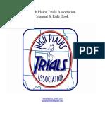 hpta manual   rulebook 2019