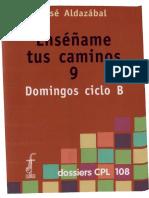 Aldazabal, José - Domingos ciclo B.pdf