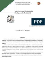 DISEÑO CURRICULAR Electricidad y Refrigeracia
