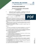 BOE-A-2019-1 - Ministerio de Asuntos Exteriores, UE, y Cooperación