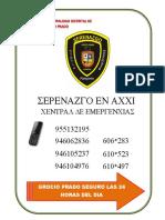 Telefonos de Serenazgo 2014
