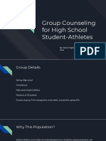 group counseling for high school student-athletes