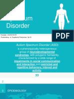 Autism Spectrum Disorder ppt
