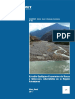 Boletin 42-B Estudio Geologico Económico de Rocas y Minerales Industriales en La Región Amazonas
