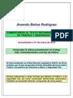 Ley de Trafico Comentada 01.01.2019