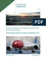 PUBLIC - Gatwick Response to CAA Final Proposals - 4 Nov 13