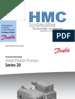 Danfoss Series 20 Axial Piston Pumps s20