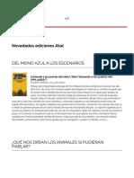 Novedades Ediciones Akal