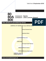 80A Liverpool - Speke (From 2 September 2018)