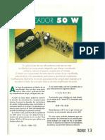 Amplificador 50W RMS EP