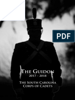 Citadel the Guidon 2017-2018