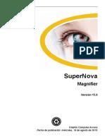 Spanish SuperNova Magnifier Manual v15