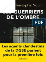 Notin Jean Christoph – Les Guerriers de L'Ombre