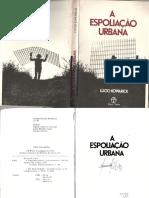 A Espoliação Urbana - Lúcio Kowarick