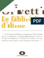Adriano Olivetti, Le Fabbriche Di Bene