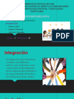 EXPO Inclusion vs Integracion