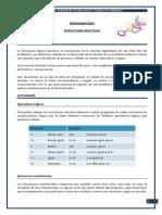 SESION 3 - Pseudocodigo Estructuras Selectivas