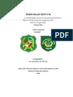 1. Cover Perforasi Septum Ilham