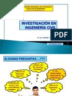 Investigacion en Ingenieria Civil