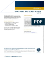 GEOVIA Training Surpac Drill and Blast Design volume1