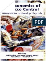 The Economics of Tobacco Control
