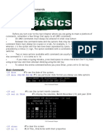 Basic and Common Commands