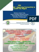 HSR connecting Cardiff