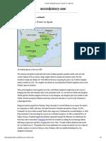 Decline of Muslim Power in Spain, To 1200 CE