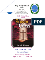 the Cross Cantata