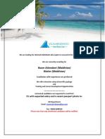 Job Maldives 010219