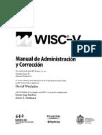 Wisc v Manual