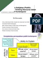 Presentation slide _ Metode Penelitian Kebijakan (Publik)
