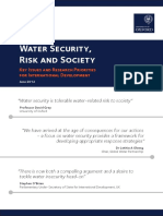 UKCDS Water Security