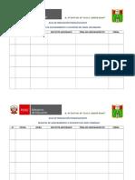 Formatos para registro de asesoramiento en el AIP - CRT