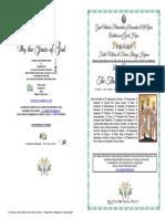 2019-30 Jan-matlit Hymns - Three Holy Hierarchs