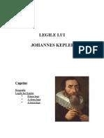 Legile lui Kepler