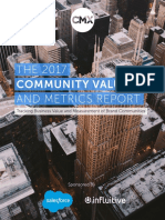 The 2017 Community Value and Metrics Report