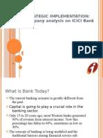 ICICI-Bank Strategic Implementation