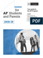 2018-2019 Bulletine for AP Students and Parents