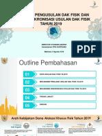 Bappenas - Bahan Sinkronisasi Usulan DAK Fisik 2019_Makassar