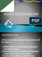 Asian Regionalism